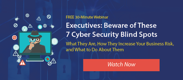 Cyber Security Blind Spots Webinar