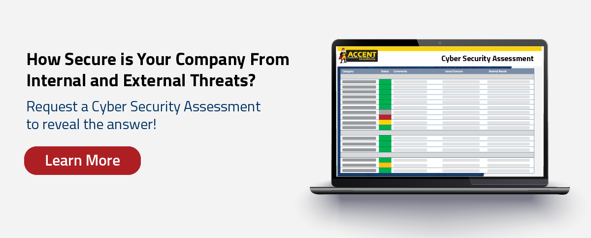 Request a cyber security assessment