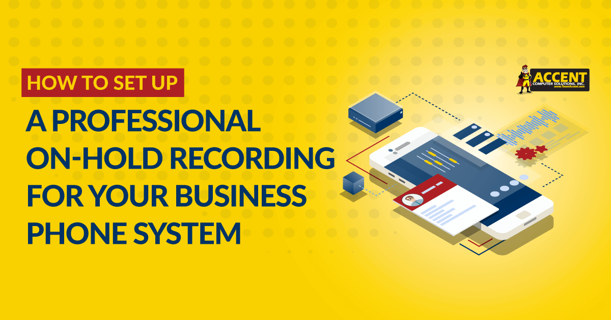 How to Set Up a Professional On-Hold Recording for Your Business Phone System