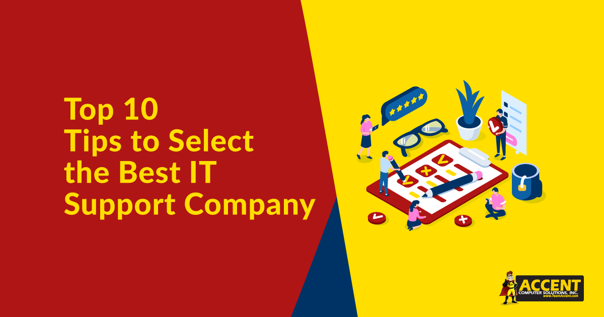 Top 10 Tips to Select the Best IT Support Company