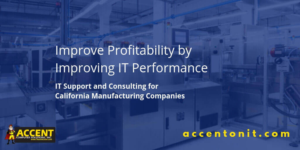 Accent Computer Solutions Recognized as a Top Managed IT Service Provider for Manufacturers
